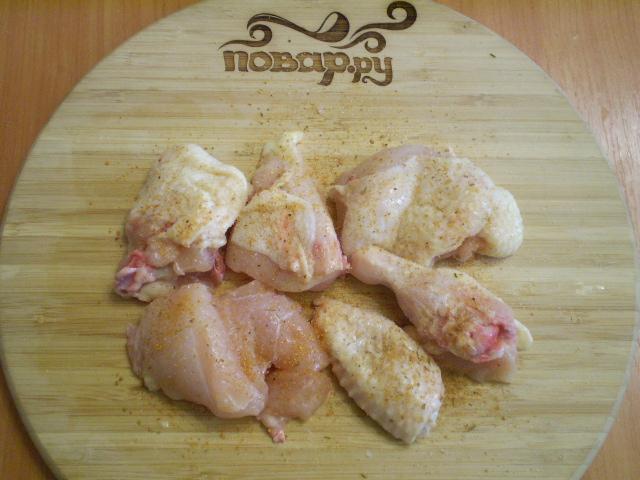 Курица на сковородке рецепт пошагово