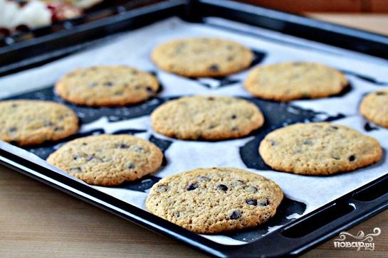Печенье с шоколадной крошкой - фото шаг 8