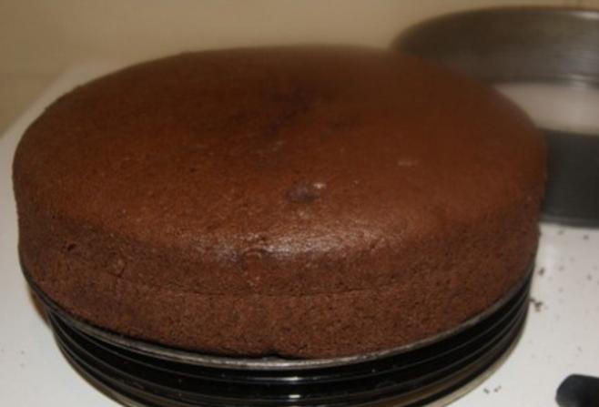 Бисквит смородиновый - фото шаг 6