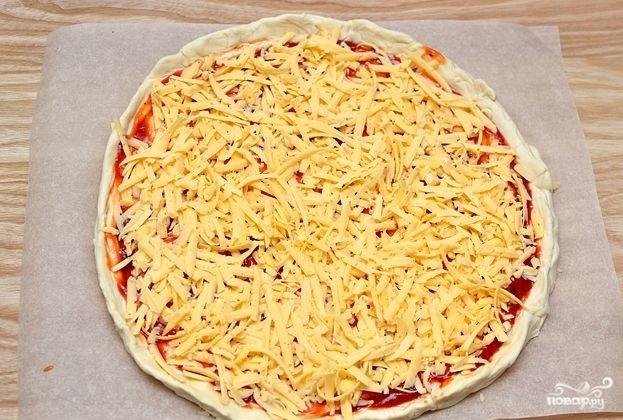 Пицца гавайская - фото шаг 3