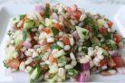 Недорогой сытный салат