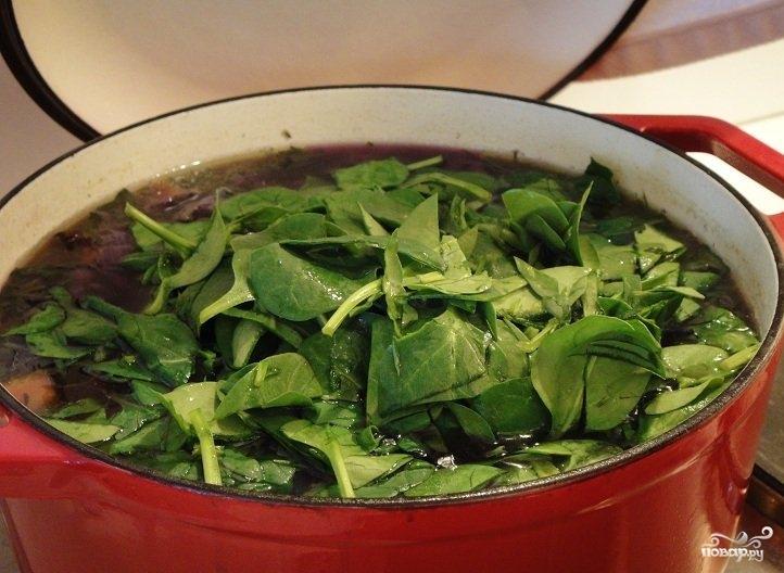 Суп из красной капусты - фото шаг 7