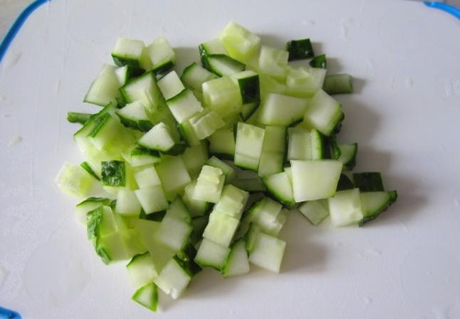 Салат с цветной капустой с майонезом - фото шаг 2
