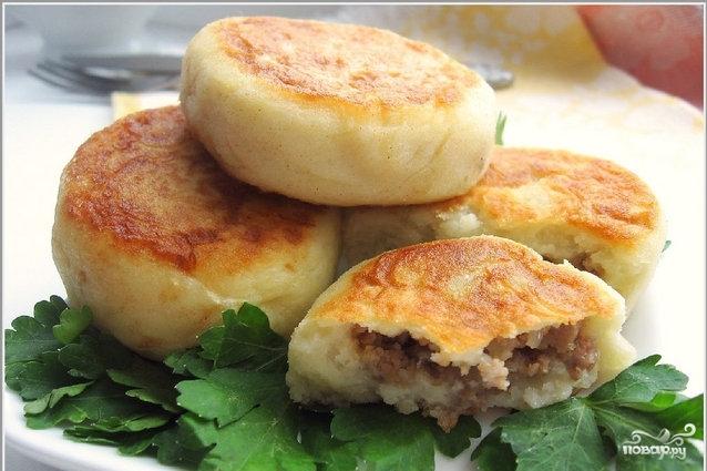 Рецепт Картопляники с капустой