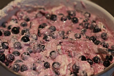 Черничный пирог на слоеном тесте - фото шаг 3
