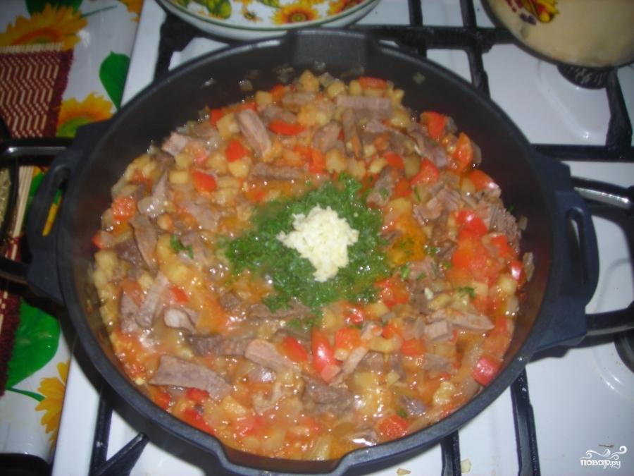 Мясо по-аджарски - фото шаг 13