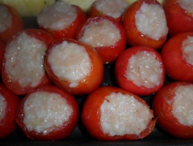 Помидоры, фаршированные мясом и рисом - фото шаг 3