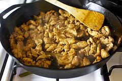 Фахитас с курицей и перцем - фото шаг 4