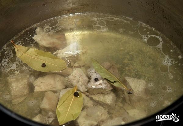 Щавелевый суп со свининой - фото шаг 1