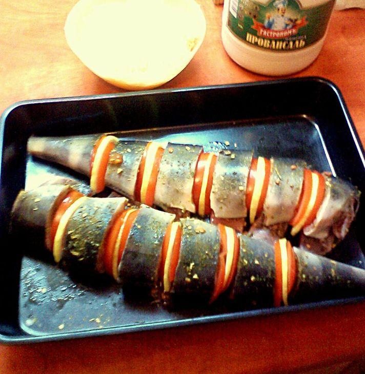 Рыба кижуч, запеченная в духовке - фото шаг 2