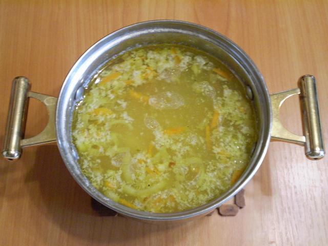 Рыбный суп из хека - фото шаг 9