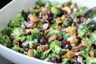 Дерзкий салат из брокколи