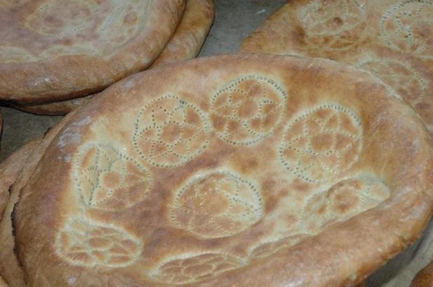Чурек туркменский - фото шаг 4