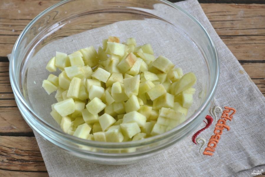 Яблочный пирог из слоеного теста - фото шаг 2