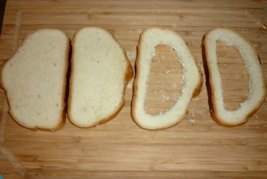Рецепт Сытный завтрак на скорую руку