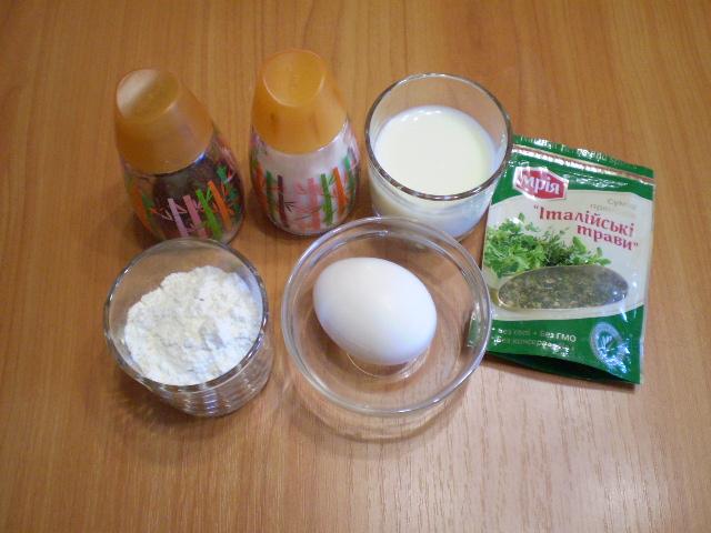 Рецепт Кляр из яйца и муки