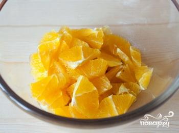 Фруктовый салат с апельсинами - фото шаг 2