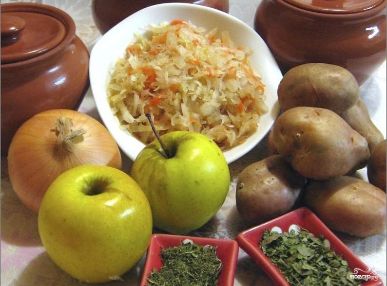 Рецепт Картофель в горшочках в духовке