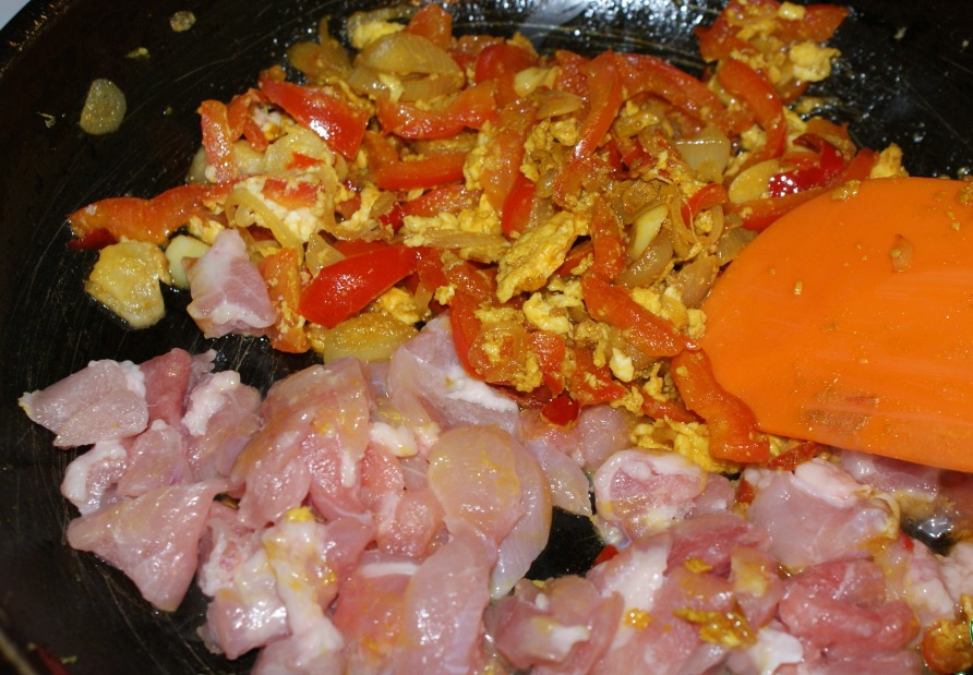 Рис по-тайски с курицей - фото шаг 4