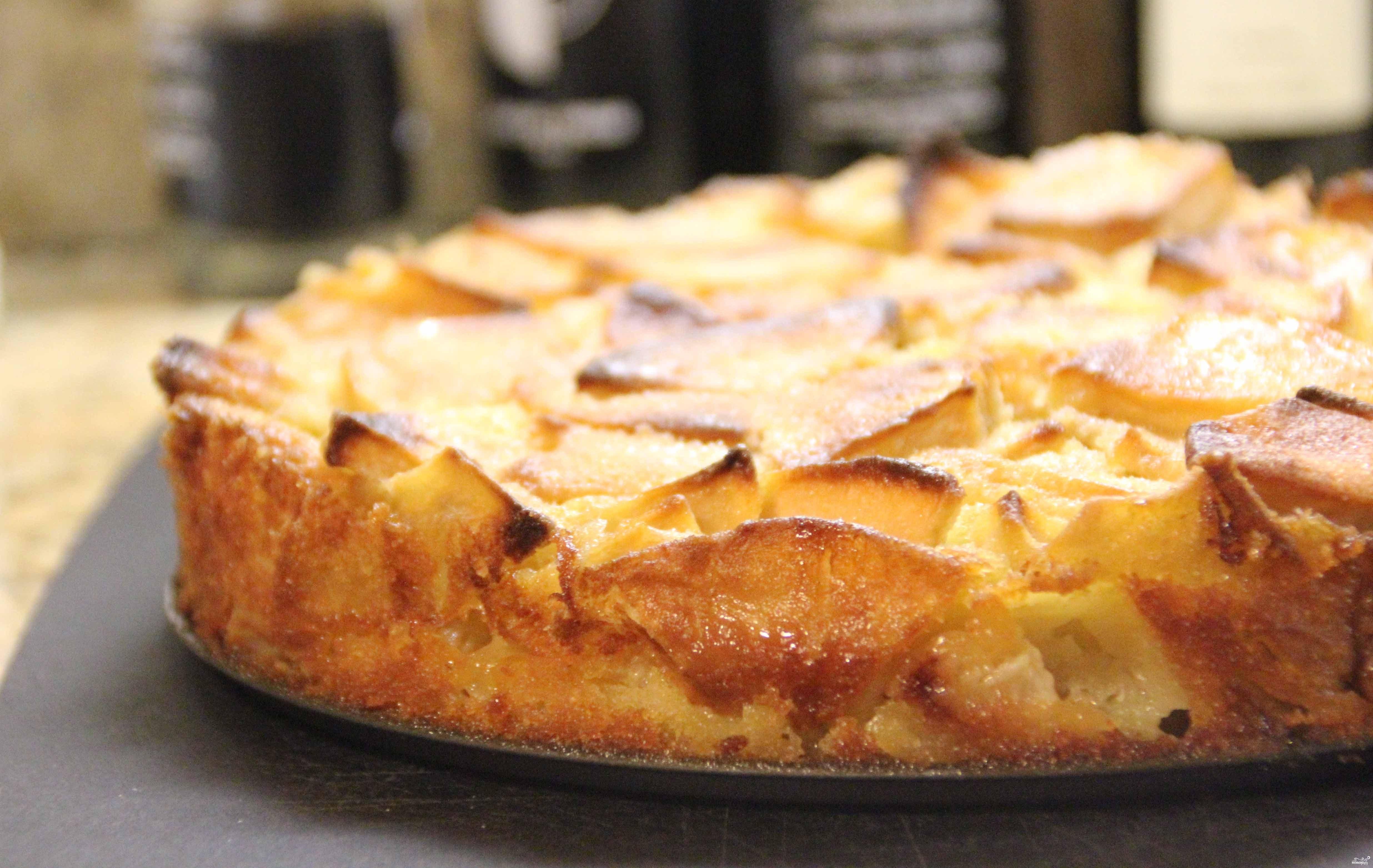 Яблоки кусочками запеченные в духовке рецепт пошагово