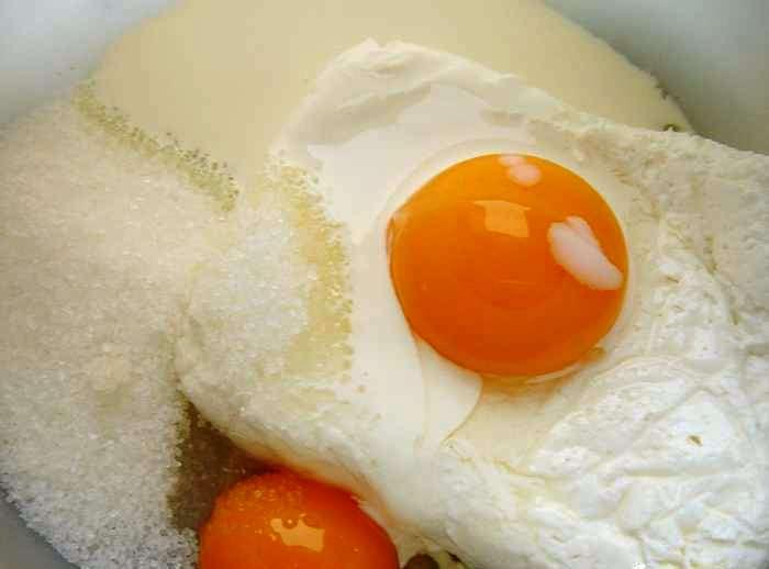 Сливочный пирог с ванилью - фото шаг 3