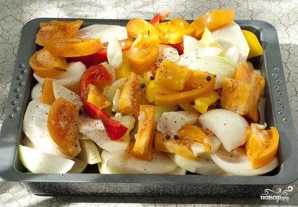 Запеченная треска с овощами - фото шаг 2