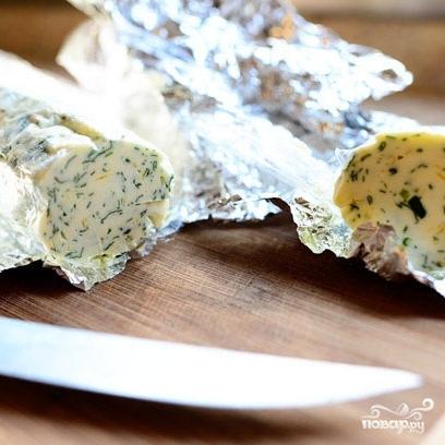 Стейк на кости с зеленым маслом - фото шаг 6