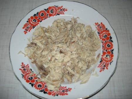 Галушки с курицей и чесноком - фото шаг 6