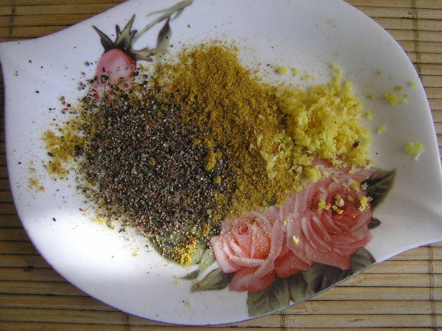 Семга в лимонной панировке - фото шаг 2