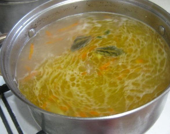 Гороховый суп с ребрами - фото шаг 3