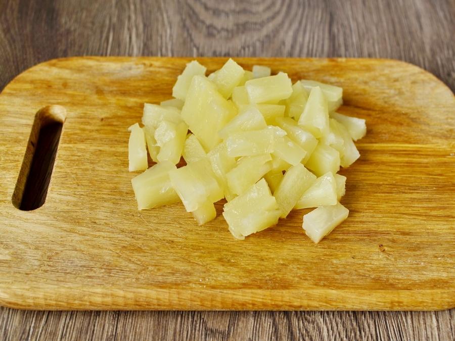 Куриное филе с ананасами - фото шаг 5