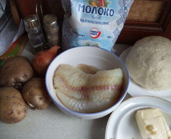 Рецепт Сибирский рыбный пирог