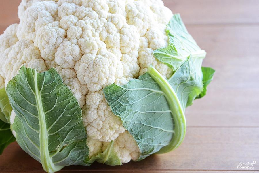 Рецепт Цветная капуста в духовке
