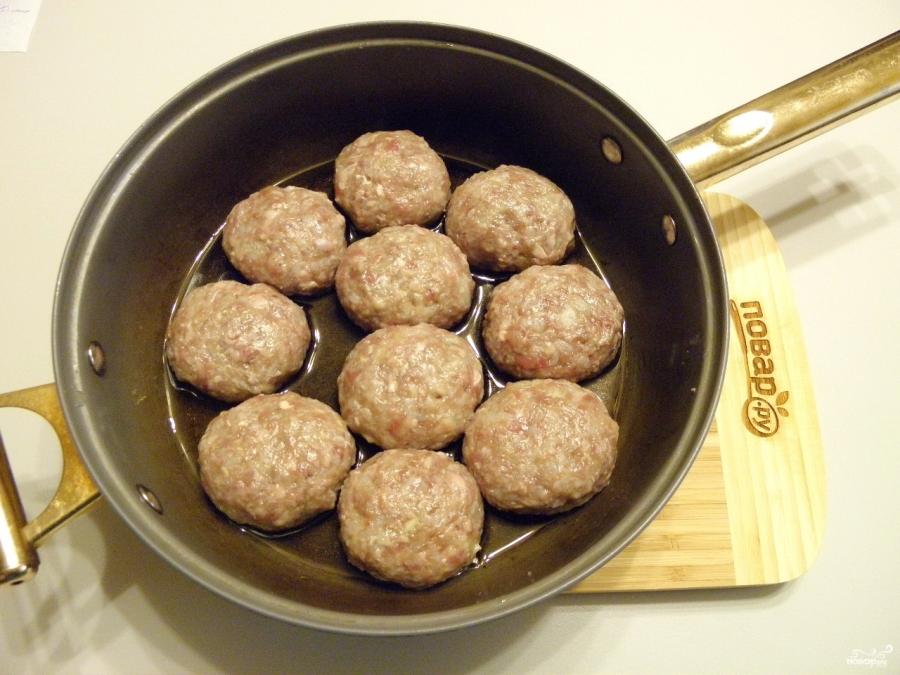 Тефтели рецепт с фото пошагово классический