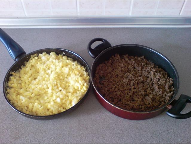 Начинка из фарша и капусты для пирожков - фото шаг 3