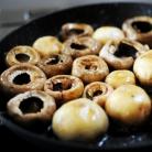 Рецепт Запеченные грибы с сыром бри