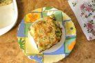 Пирог с кабачками и зеленью