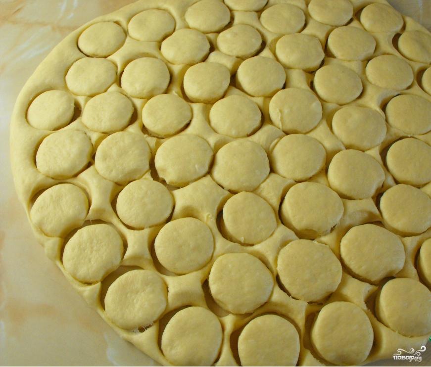 Пончики с начинкой - фото шаг 3