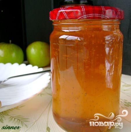 Яблочный конфитюр - фото шаг 7