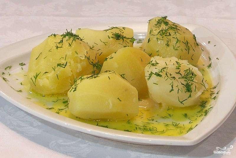 Рецепт Отварной картофель в мультиварке