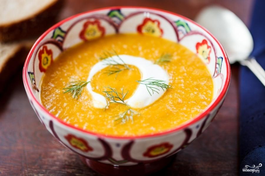 Морковный суп-пюре с фенхелем - фото шаг 5