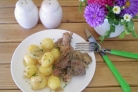 Утка в духовке с картофелем