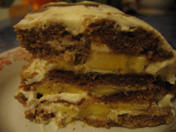 Пряничный торт без выпечки - фото шаг 6