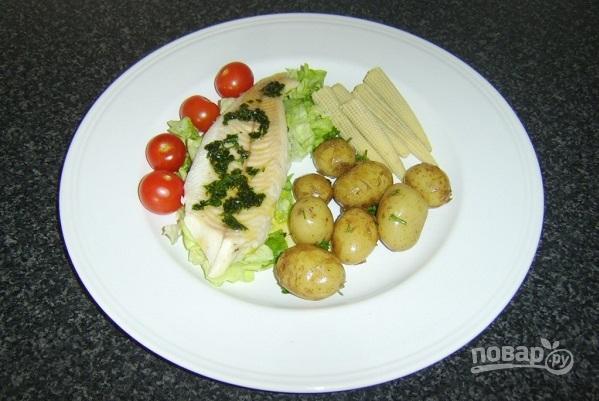 рецепт щука запеченная в духовке с картофелем в