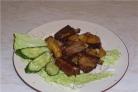 Картофель вкусный с ребрышками в мультиварке