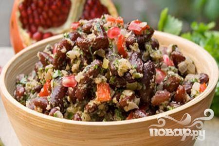 Рецепт Лобио из красной фасоли