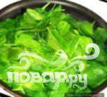 Ошиташи - Отварной шпинат - фото шаг 1
