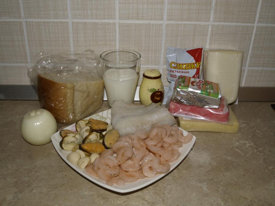 Чупе из морепродуктов по-чилийски - фото шаг 1