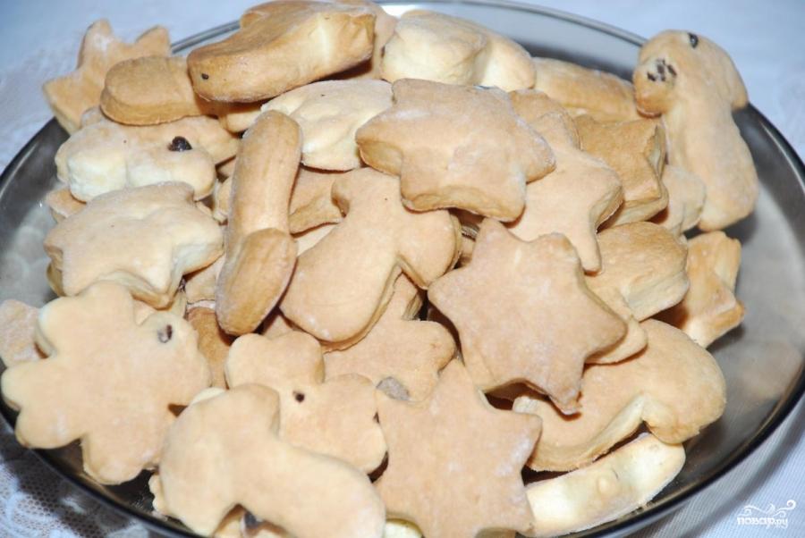 Рецепт Печенье на сметане
