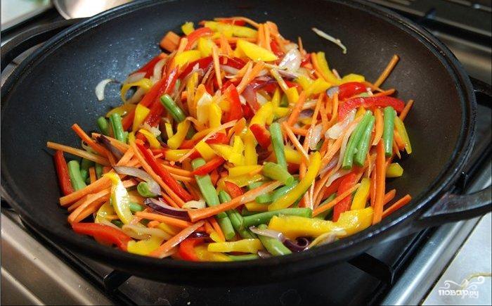 Стир-фрай с овощами - фото шаг 3